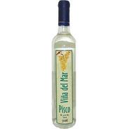 Destilado  Viña Del Mar Pisco 750ml - Santa Cecília