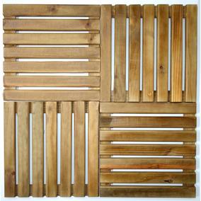 Kitc/06un Deck De Madeira 50cm X 50cm