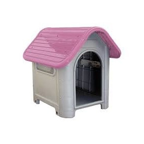 Casinha Cachorro Plástico Caes E Gatos N°3