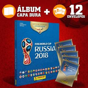 Álbum Copa Do Mundo 2018 Capa Dura Com 60 Figurinhas