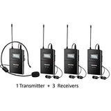 Anleon Wireless Headset Sistema De Micrófono Para Guía Turís