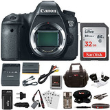 Canon Eos 6d 20.2 Mp Full Frame Cmos Sensor Digital Slr Came