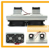 120w Sistema Refrigeración Electrico Doble Celda Peltier 12v