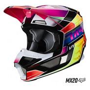 Ej.-casco Fox V1 Yorr Mx20 Para Niño