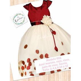 Vestido Color Vino 022