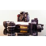 Oferta! Cámara Fotográfica Nikon D7000, Battery Pack! Combo