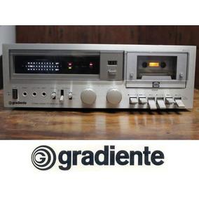Quadro 20x30 + Foto Digital Do Tape Deck Gradiente Cd-4000