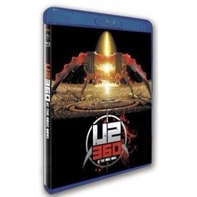 U2 360º - Live At Rose Bawl - Blu Ray Lacrado
