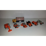 Lote Micromachines Orig Maquinas Agricolas Y Camion Galoob