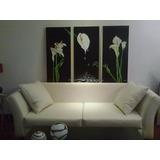 Cuadro Abstracto Moderno Calas - 1m X1. 50m - Mi Decoradora