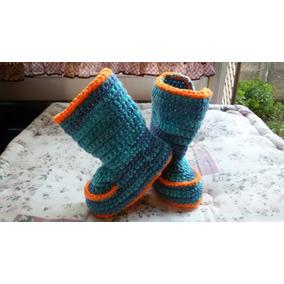 Botitas Para Bebé A Crochet.