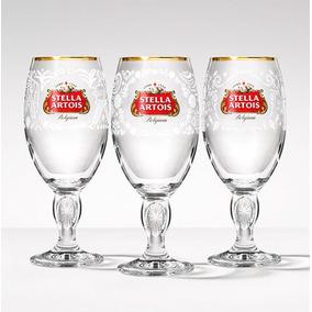 Kit Cálice Stella Artois, México, Índia, Filipinas 250ml Ste