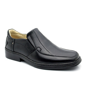 Sapato Masculino Magnético 912 Floater Preto Doctor Shoes