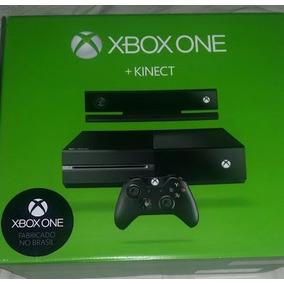 Xbox One Com Kinect Semi-novo +1 Jogo
