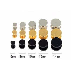 Falso Alargador Par (2 Unidades) 6mm, 8mm, 10mm, 12mm E 14mm