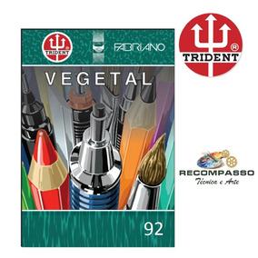 Bloco A3 Papel Vegetal 92g 50 Folhas Fabriano