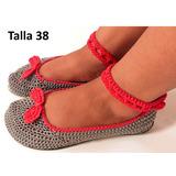 Zapatillas Tejidas A Crochet