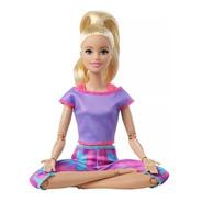 Barbie To Move Loira Articulada 2021 Ms