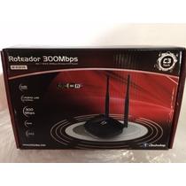 Roteador Wireless 2.4 Ghz 300 Mbps W-r301n 5dbi C3 Tech