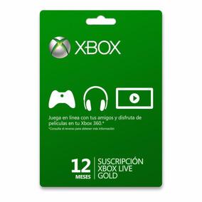 Membresía Xbox Live Gold 12 Meses Everyshop