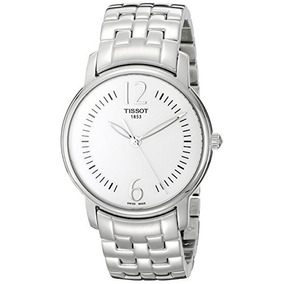 Reloj tissot plateado mujer