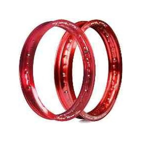 Par Aro Roda 2.15x14 + 1.85x17 Alumin Viper Vermelho Pop 100