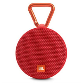 Caixa De Som Bluetooth À Prova D´agua Jbl Clip 2 Vermelha