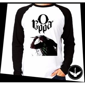 Manga Longa O Rappa Banda Reggae Rock Blusa Camisa Comprida