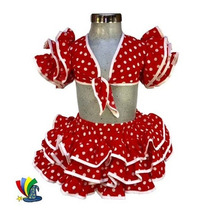 Disfraz Primavera Rumbera Carnaval Niña Talla 2