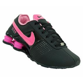 Tênis Feminino Nike Shox Deliver Preto E Pink Original