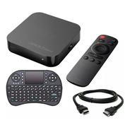 Droid Box S Plus X-view Smart Ultra Hd 4k Teclado Netflix