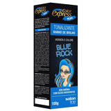 Kit Tonalizante Color Express Fun Salon Line Blue Rock 100g