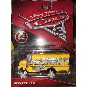 Autobus Escolar Miss Fritter Camion Deluxe Cars 3 Disney