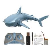 Mini Tubarão De Controle Remoto Até 40 Metros Toy Swim