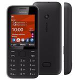 Celular Nokia 208 Dual Chip C/ Whatsapp Facebook Novo