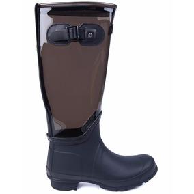 6a453b82bba Galocha Hunter Botas - Sapatos para Feminino Cinza escuro no ...