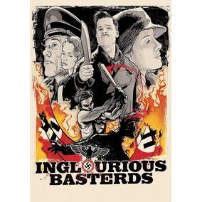 Cartaz Decorativo Poster Bastardos Inglorios Arte Desenho A3
