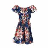 En Oferta Bello Vestido Floreado Moda Asiatica Japonesa S/m