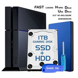 Skywin Ps4 Slim High Performance Sshd (ssd+hdd) 1tb Playstat