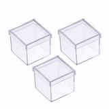 Caixaacrilico 6x6 (100 Unidades) Lembrancinhas- Frete Grátis