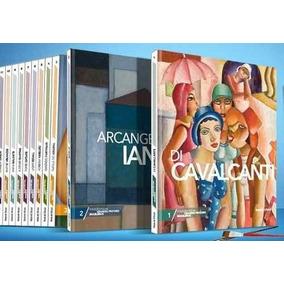 Coleção Livros Grandes Pintores Brasileiros Folha 17 Volumes