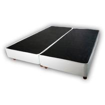 Base Sommier Box Somier Cama 2 Plazas Y Media Queen Size