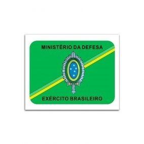 Adesivo Exército Brasileiro Ministério Da Defesa Uso Interno