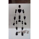 Esqueleto Stop Motion 18cm!! Acero/plastico