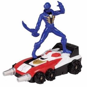Power Rangers Zord Delta Runner + Ranger Azul + Llave