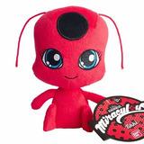 Peluche Tikki Plagg Miraculous Kwami - Lady Bug 16cm Import