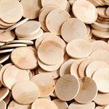 Pajaros Carpinteros 200 Circulos De Madera, 200 Piezas