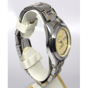 Reloj Seiko Kinetic Automatico Rec Mov 5m42 Acero Inoxidable