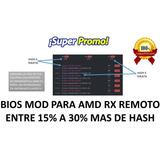 Rx580 Rx560 Rx560 Btc Rig Mineria Criptomoneda Bios Mod