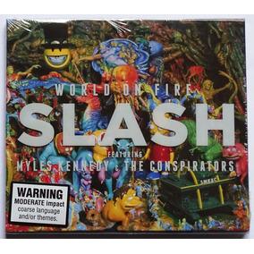 Cd Slash - World On Fire Importado Novo Lacrado Guns N Roses